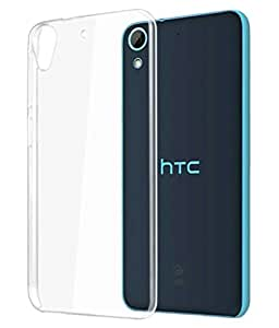 ZYNK CASE TRANSPARENT BACK COVER FOR HTC DESIRE 628