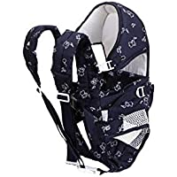 WonderKart Chuan-Que Baby Carrier 6 In 1 Navy Blue