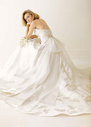 Novelty Melissa Sweet Corset Wedding Dress with Pockets Style MS251058, Ivory, 4