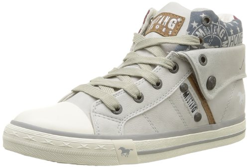 Mustang High Top 1146-503-203, Sneaker Donna, Grigio (Grau (ice 203)), 37