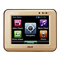 ASUS R300 3.5-Inch Bluetooth Portable GPS Navigator (Gold)