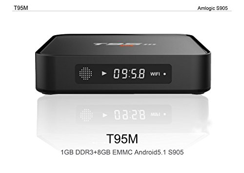 Buy 2016 new model T95M android tv box Kodi Pre installed Amlogic S905 Quad-core cortex-A53 Android ...