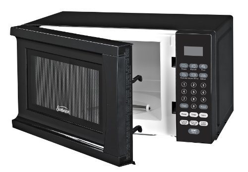 Sunbeam Sgs90701b B 0 7 Cubic Foot Microwave Oven Black
