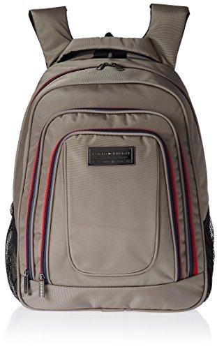Tommy Hilfiger Jackson Polyester Beige Laptop Bagpacks (TH/JAK21BP0314)