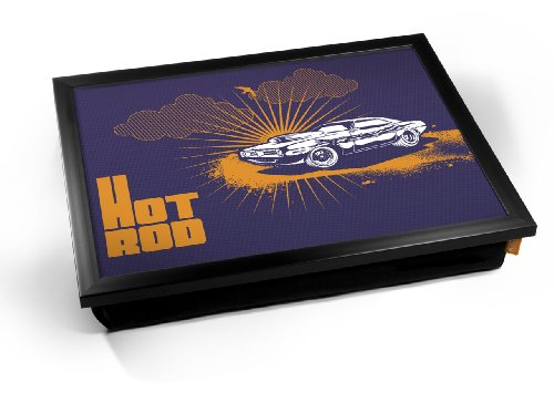 Hot Rod Car Cushion Lap Tray Kissen