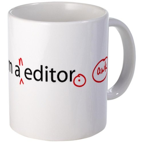 Cafepress I Am An Editor Mug - Standard Multi-Color