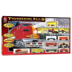 HO Scale Thundering Rails Electric Train Set