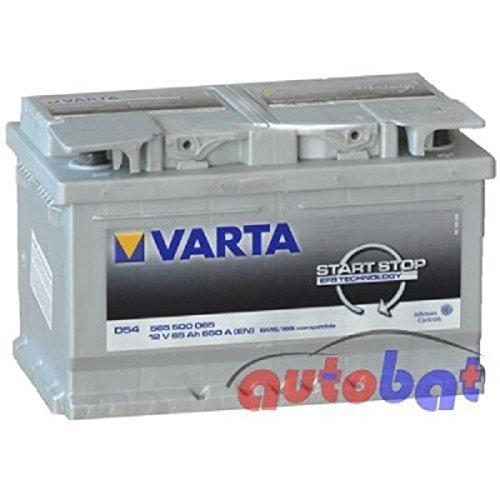 Varta D54 12V 65Ah 650 A(EN) Start