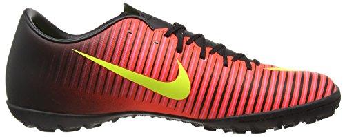 Nike Herren Mercurial Victory VI TF Fußballschuhe, Rot (Total Crimson/Volt-Black-Pink Blast), 45.5 EU -