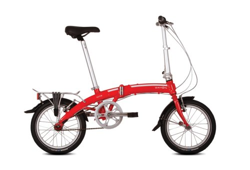 New DAHON CURVE D3 FOLDING BICYCLE
