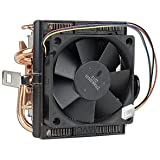 "AMD Socket AM3/AM2+/AM2/1207/939/940/754 Copper Base/Alum Heat Sink & 2.75"" Fan w/Heatpipes & 4-Pin Connector"