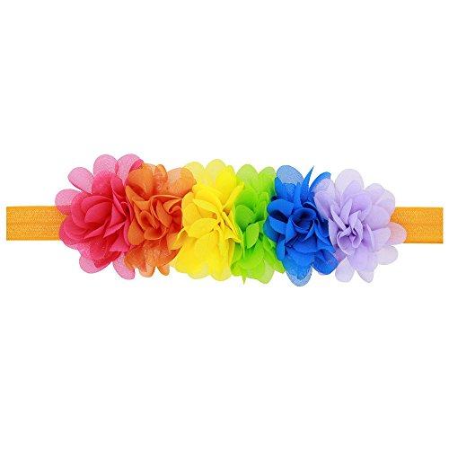 milazer-baby-printing-bowknot-rabbit-ears-elastic-cloth-headband-pink-multicolor