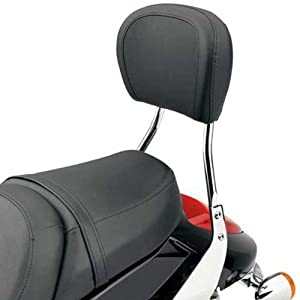 Cobra Round Sissy Bar Tall Pad 17 IN for Honda VLX600