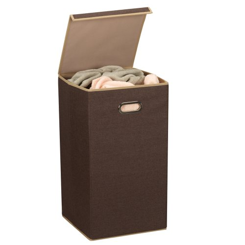 Item description - Plastic hamper with lid ...