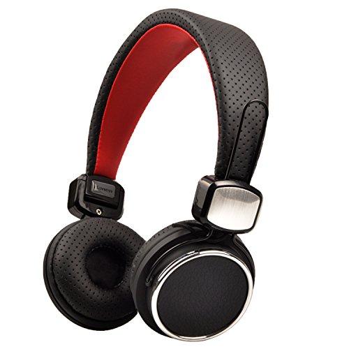 Headphones, Biensound 850 Stereo Lightweight Foldable Headphones Adjustable Headband Headsets with Microphone 3.5mm for Cellphones Smartphones Iphone Laptop Computer Mp3/4 Earphones (Black) (Black Head Phones With Microphone compare prices)