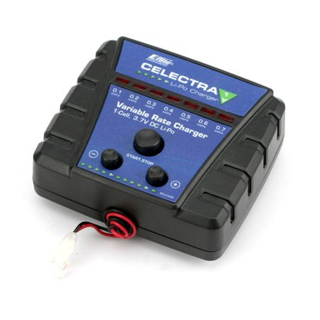 E-Flite Celectra 1S 3.7 Variable Rate DC Lipo Charger