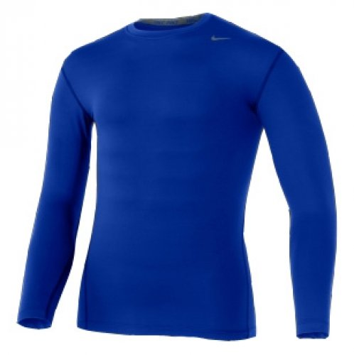 Nike Pro Core Long Sleeve Tight Crew Top - Small