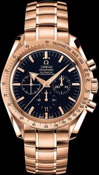 Omega New Omega Speedmaster Broad Arrow Mens Watch 3153.80.00
