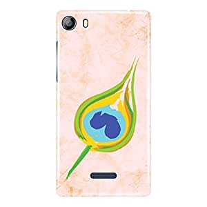 a AND b Designer Printed Mobile Back Cover / Back Case For Micromax Canvas 5 - E481 (MIC_E481_3D_1009)