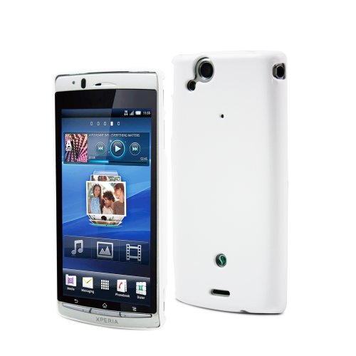 "SONY - SEBKC0012 ""Made for Sony Ericsson"" - Coque pour Sony Xperia Arc - Blanc"