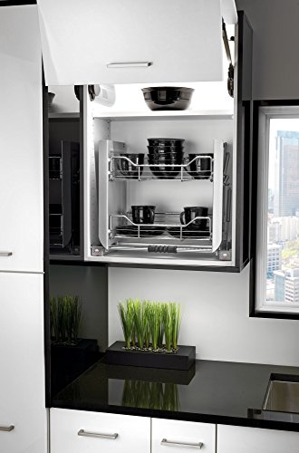 Rev-A-Shelf - 5PD-24CRN - Small Wall Cabinet Pull-Down Shelving System (Kitchen Shelving System compare prices)