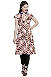 Ekavira Women's Tunic Top (EKTU-04M_ Multicoloured_Medium)