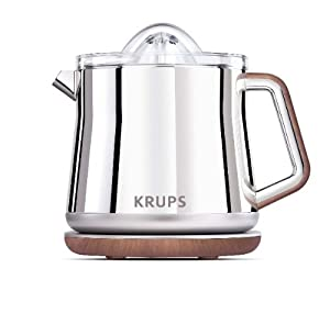 Krups ZX800E42 Silver Art Citrus Press (Silver)