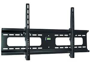 "Ultra-Slim Black Adjustable Tilt/Tilting Wall Mount Bracket for Panasonic TC-P50ST60 50"" inch Plasma HDTV TV/Television - Low Profile"