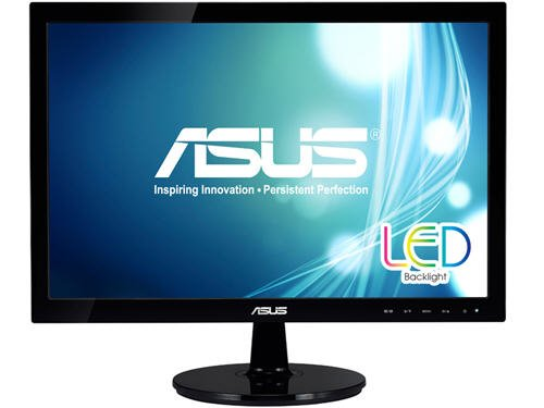Asus Vs207T-P 20-Inch Screen Led-Lit Monitor front-579341