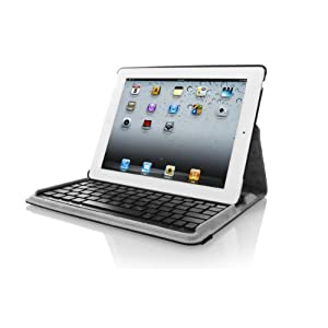 Targus Versavu Keyboard and Case for Apple iPad 2, Wifi / 3G Model 16GB, 32GB, 64GB, THZ084US (Black/Gray)