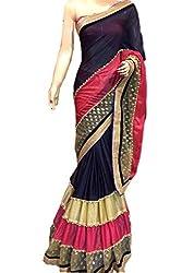 Prenea Women's pure crape silk saree