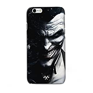 AXA batman joker Printed Back Cover Compatible for iPhone 6/6S Black