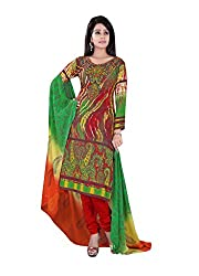 Krishna Present All New Design Of Multi color Cotton Printed Dress, Salwar Ka...
