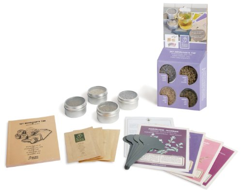 Esschert Design Usa E7018 Secrets Du Potager Tea Discovery Set