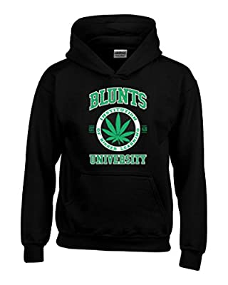 Shop4Ever® Blunt University 420 Hoodies Smokers Club Sweatshirts