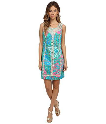 Lilly Pulitzer Women'S Macfarlane Shift, Multi Lilly Lounge Small, 0,0