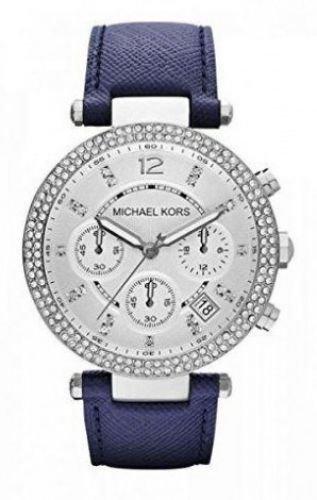 Michael Kors MK2293-Orologio per Donna con cinturino in pelle, colore: argento/grigio