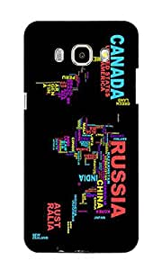 NAV PRINTED BACK COVER For SAMSUNG GALAXY J7 2016