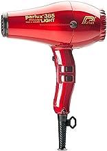 Parlux Power Light 385 Red - Secador iónico cerámico, color rojo
