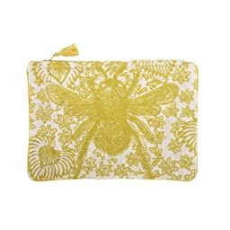 Buzz Embroidered Pouch