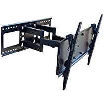"""VideoSecu Mounts TV Wall Mount for most 32"""" - 65"""" LCD LED Plasma Flat Panel TV with VESA from 200x100 to 684x400mm, Full Motion Swivel Tilting Articulating Arm Mount Bracket Studs up to 24"""" B71"""