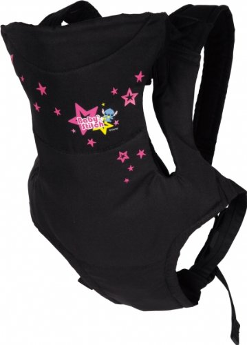 Combi 2-Way Baby Carrier Baby Stitch (Black Star) front-458453