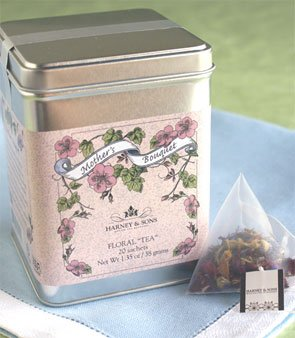 Harney and Sons Fine Teas Mother's Bouquet in Tin, 20 Sachets