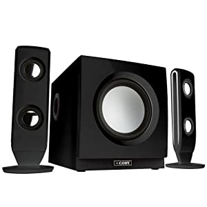 Coby CS MP77 High Performance MP3 Speaker System Discontinued