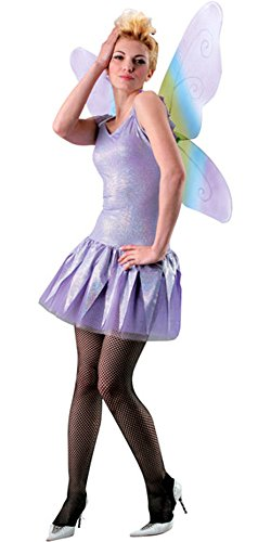 Adult Women's Colorful Butterfly Costume Wings