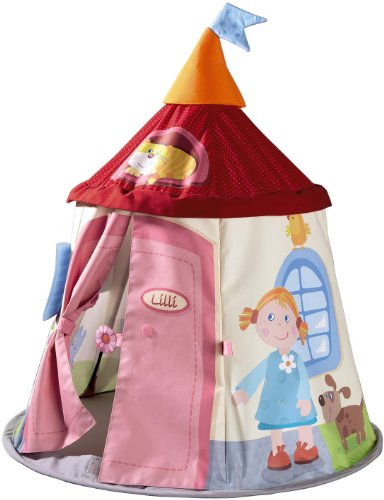 Haba 301528 Doll Tent Lilli's Garden Lodge
