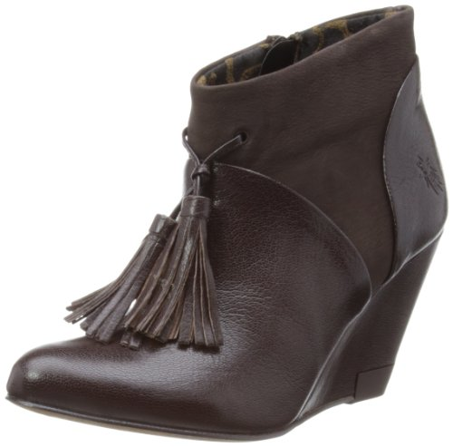 Fly London Womens Lane Dark Brown Boots P142887001 3 UK, 36 EU