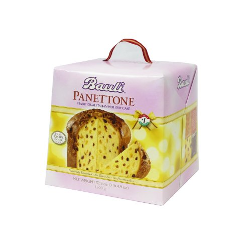 Bauli Panettone Italian Cake 52.9 Ounce Gift