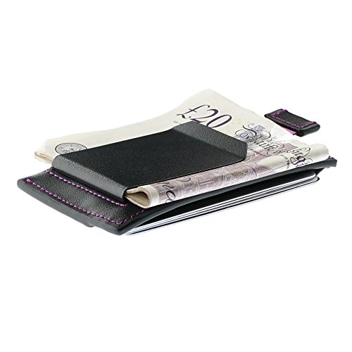 oak-and-steel-genuine-leather-compact-money-clip-wallet-card-case-secure-rfid-blocking-black-purple-