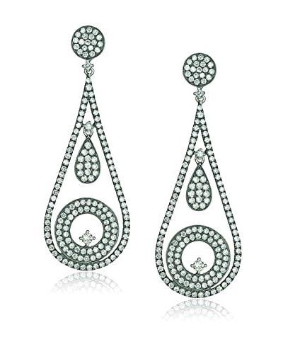 Jenny Perl Diamond Teardrop Earrings